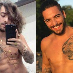 Filtraron supuestas fotos desnudo de Maluma