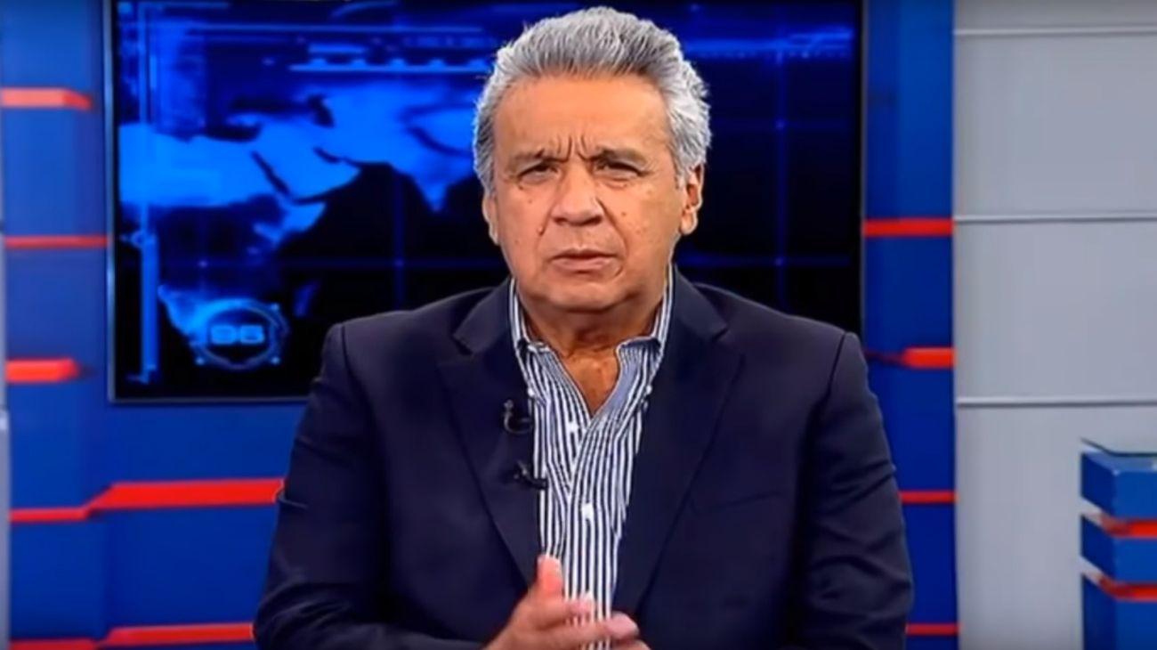 Teleamazonas entrevistó al presidente de Ecuador, Lenín Moreno