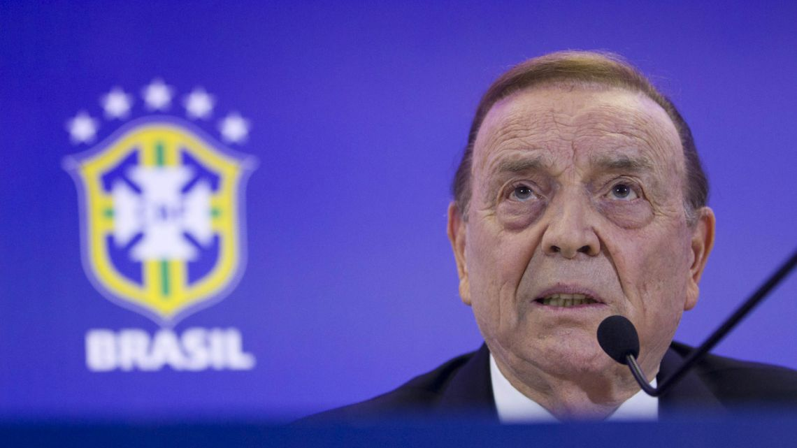 José Maria Marin, the former head of the Brazilian football confederation (CBF).