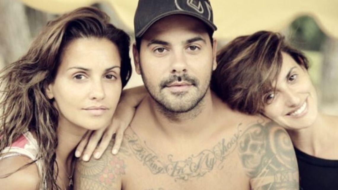 Mónica, Eduardo y Penélope Cruz