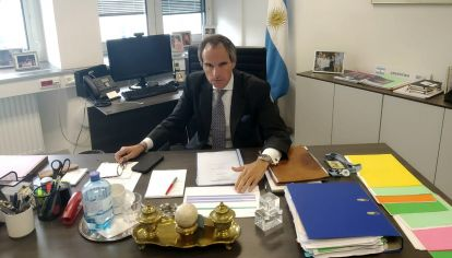 Rafael Grossi, embajador en Viena y candidato a la OIEA.
