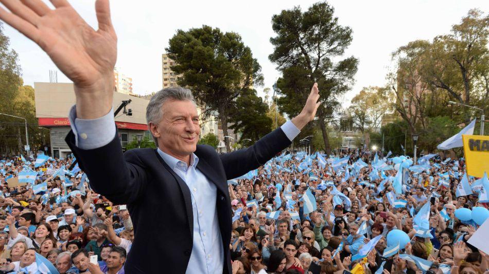 Mauricio Macri. 20191009