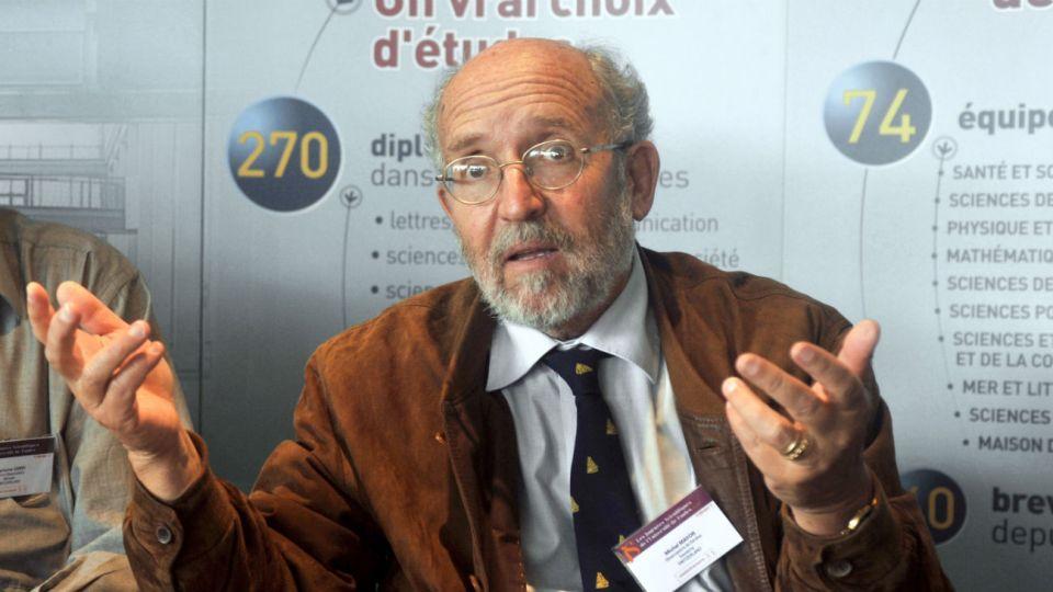 El profesor honorario del Observatorio de la Universidad de Ginebra, Michel Mayor.