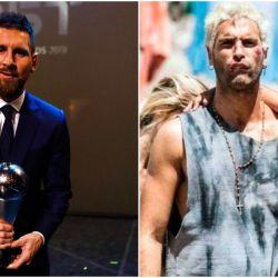 """Leo Messi se declaró fanático del """"El Marginal"""""""