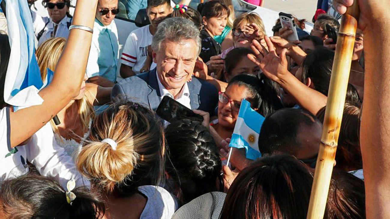Macri llevó a Salta sus promesas a la clase media y el sábado pisará suelo bonaerense