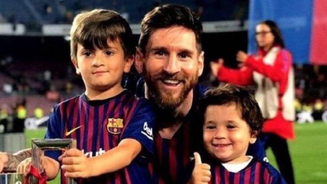 """La confesión de Leo Messi sobre su hijo Mateo: """"Se nos está yendo de las manos"""""""