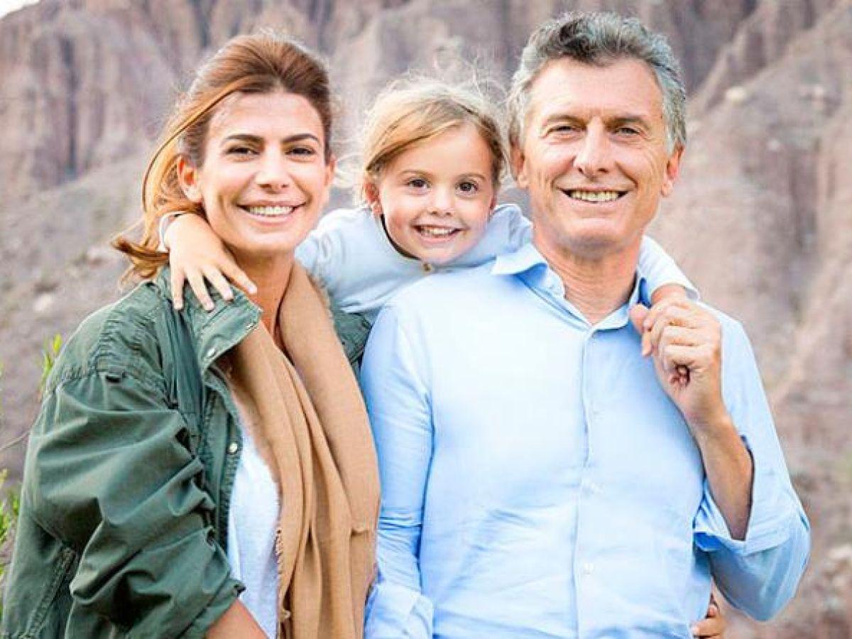 Juliana Awada y Mauricio Macri celebraron el cumpleaños de Antonia