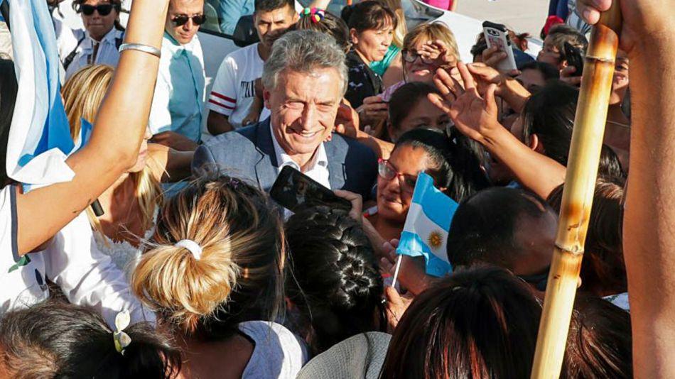 Mauricio Macri en Salta.