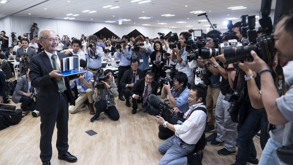 Japanese Scientist Akira Yoshino Shares Nobel Prize In Chemistry