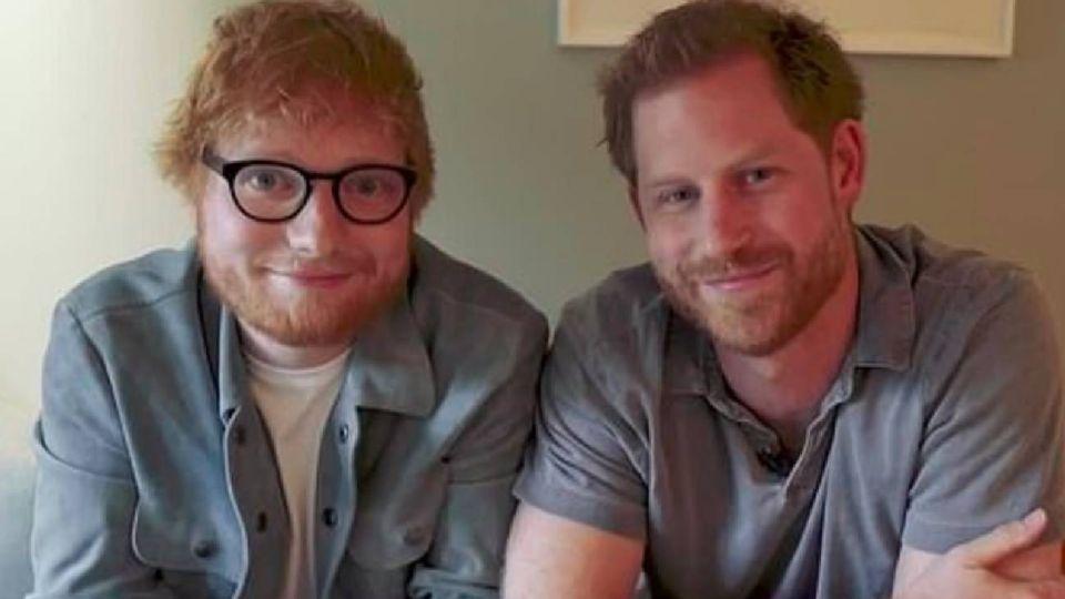 Ed Sheeran y el príncipe Harry: el importante motivo por el que se unieron