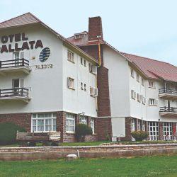 El mítico hotel Uspallata.