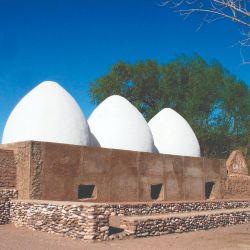 """Hornillos blancos de """"Las Bóvedas"""", donde se fundieron metales para fabricar el armamento del Ejercito Libertador."""