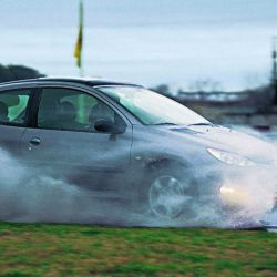 La lluvia, uno de los factores que atentan contra la seguridad vial.
