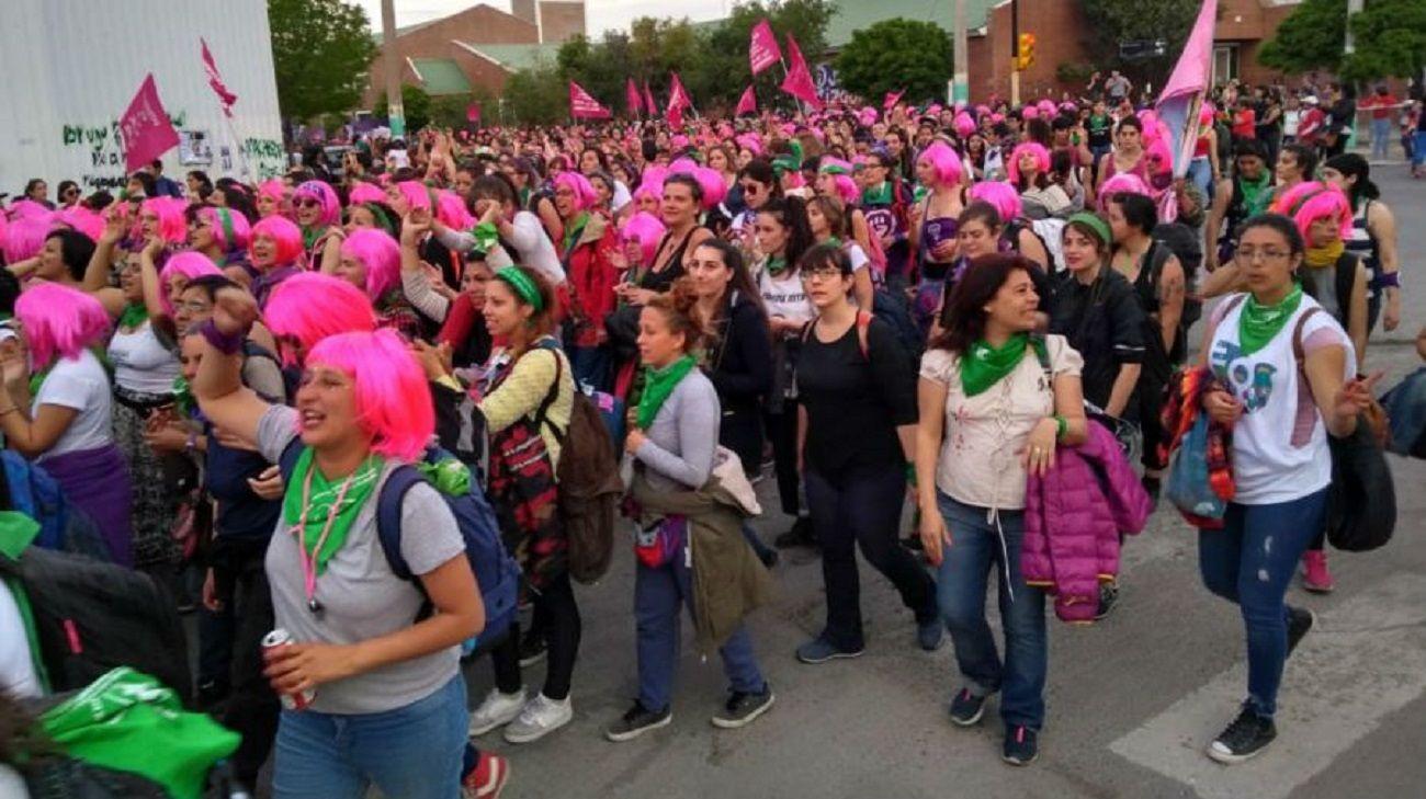 El 33 Encuentro Nacional de Mujeres fue en Trelew.