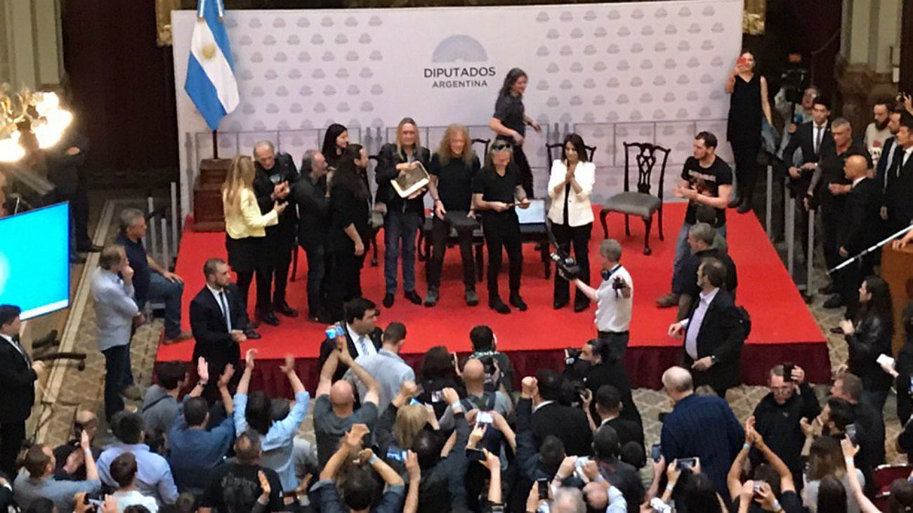 """Iron Maiden en Argentina: Diputados declaró """"visita de honor"""" a la banda de heavy metal"""