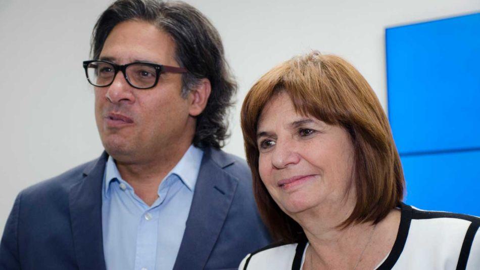Germán Garavano y Patricia Bullrich