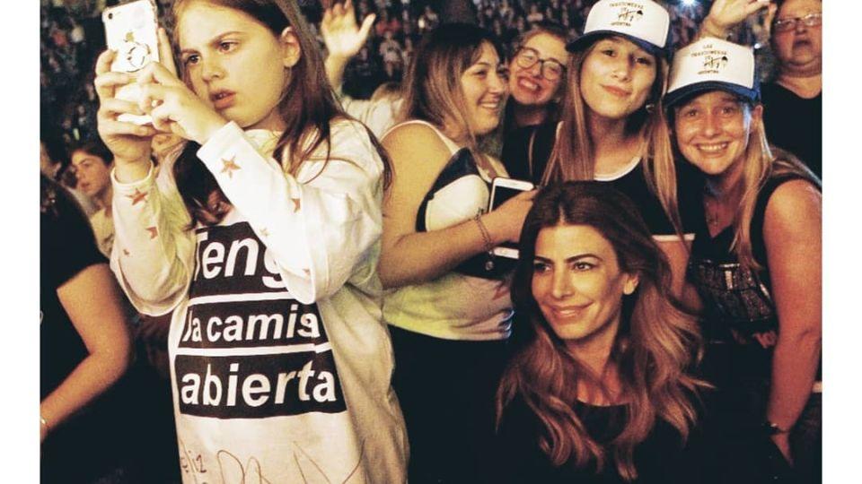 Antonia Macri celebró su cumpleaños con Sebastían Yatra y Tini Stoessel
