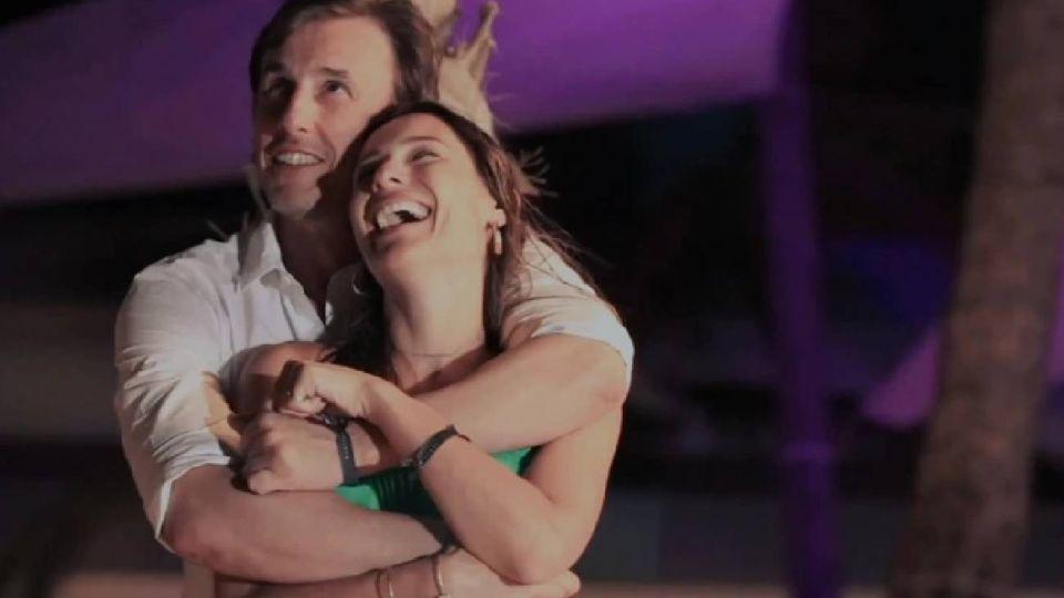 Pampita y Roberto García Moritán: la historia de amor