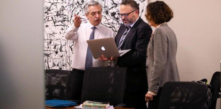 ELEGIDO. Junto a Cecilia Todesca, Matías Kulfas es uno de los economistas preferidos por Fernández. Tiene lugar asegurado en un eventual gabinete.
