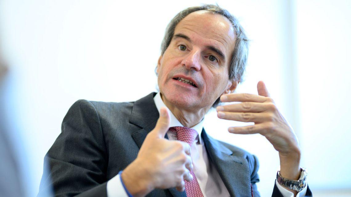 Diplomat Rafael Grossi.