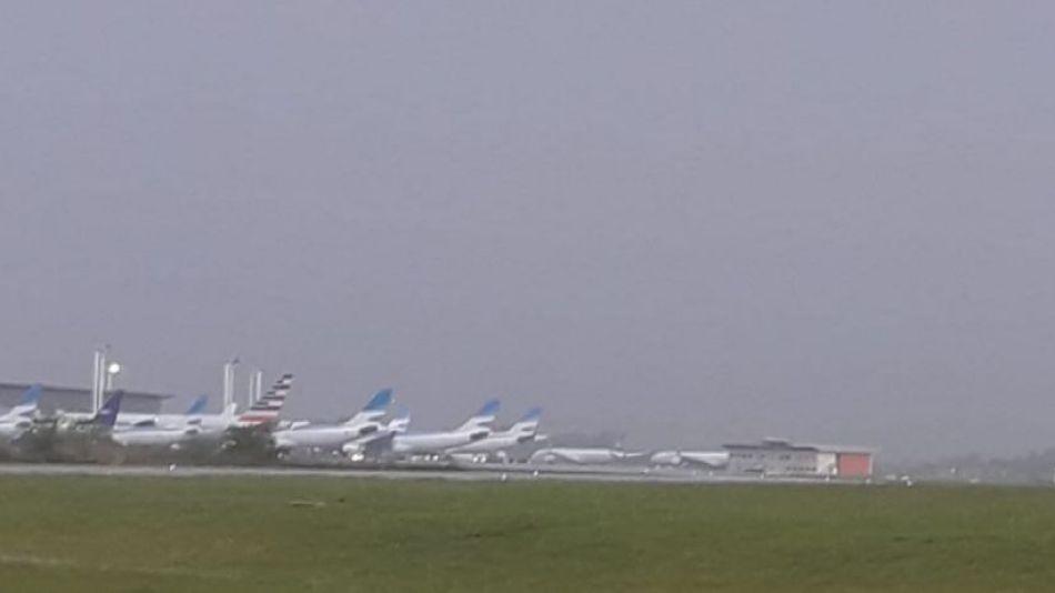 ezeiza lluvia vuelos g_10112019