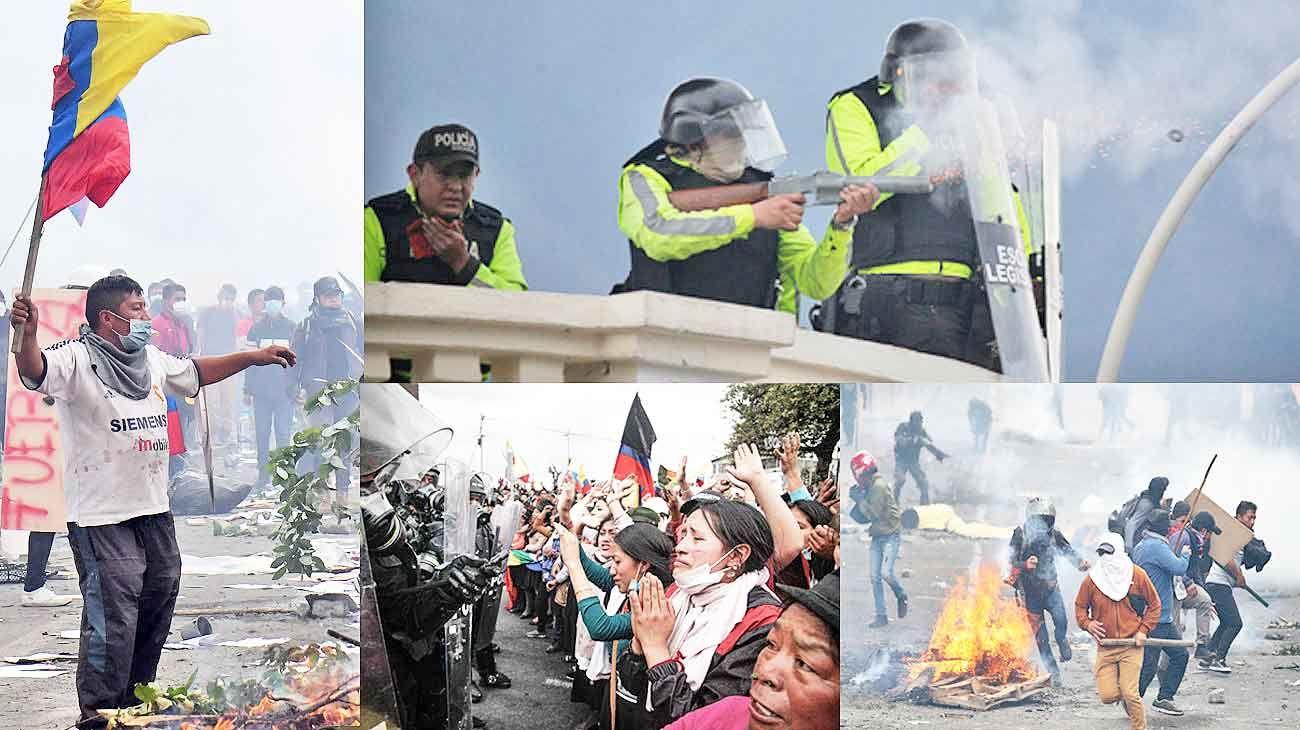 Quito: represión brutal e infiltrados