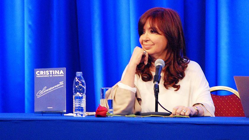 Cristina presentará su libro en El Calafate