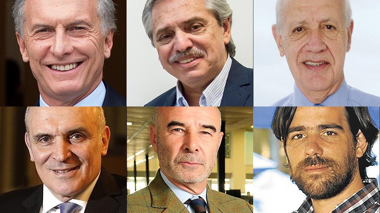 Candidatos en elecciones a presidente