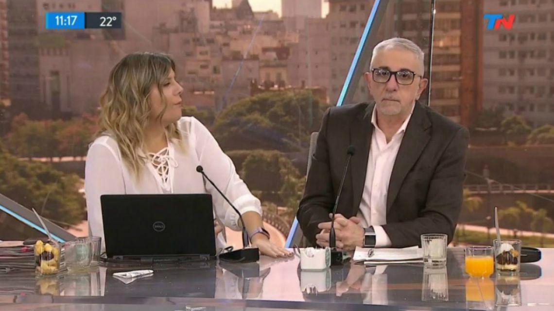 "Ricardo Canaletti estalló de furia al aire en TN: ""Son tan forros"""