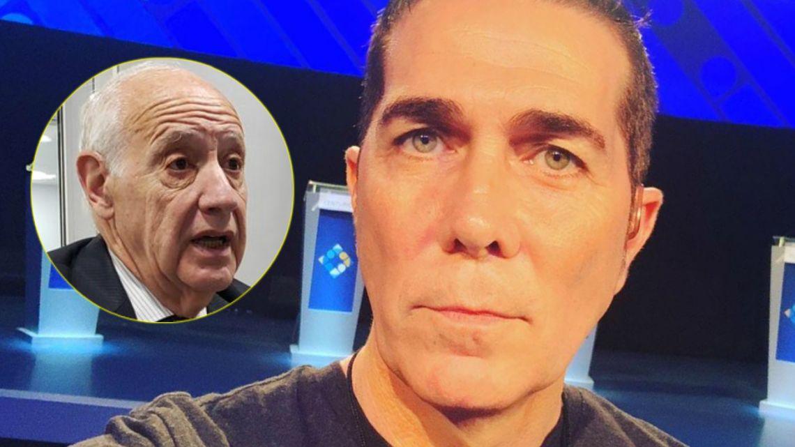 Resultado de imagen para blooper de Rodolfo Barili en el debate presidencial
