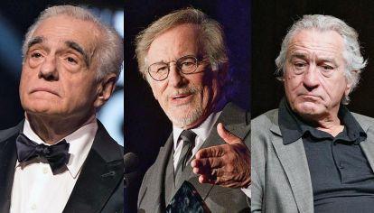 Bajo protesta. Martín Scorsese, Steven Spielberg y Robert De Niro a su edad se mantienen rebeldes frente a la corrección política de los jóvenes actores de Hollywood.