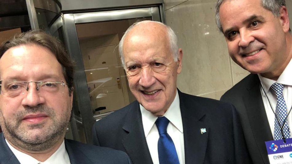 Roberto Lavagna y Marco (hijo) 20191013