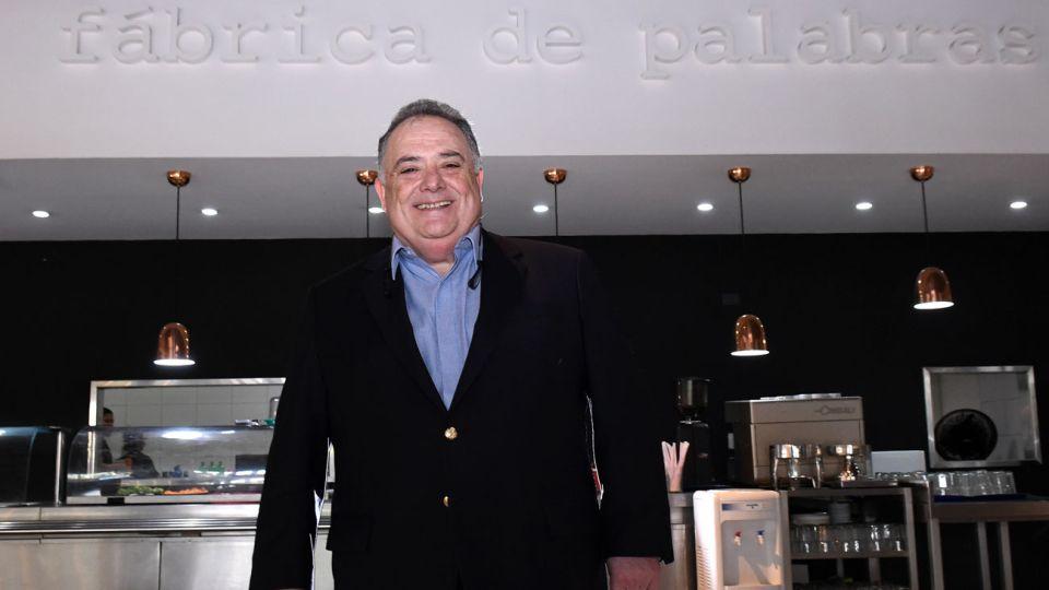Eduardo Valdés, en la entrevista con Jorge Fontevecchia.