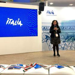 Marina Gabrieli presentó en el marco de la FIT la propuesta de Raíz Italiana.