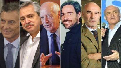 Candidatos a Presidente.