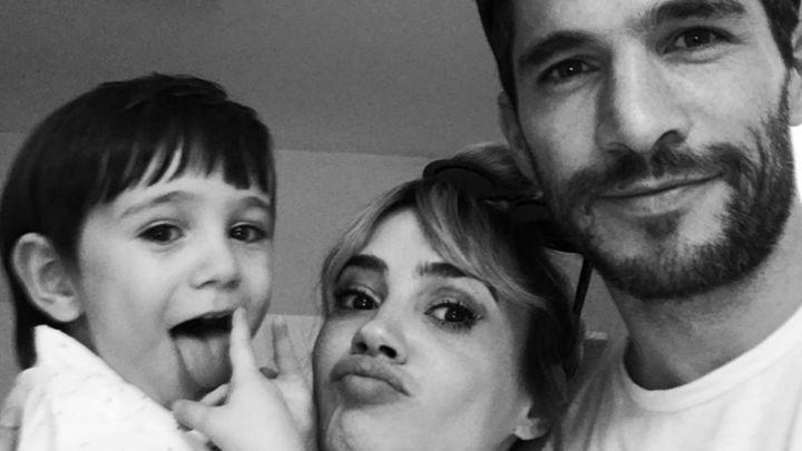 Celeste Cid y Michel Noher celebraron los tres años de su hijo, Antón