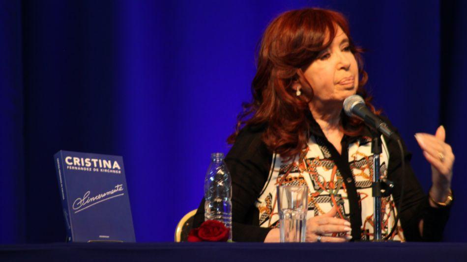 cristina kirchner presentación libro calafate