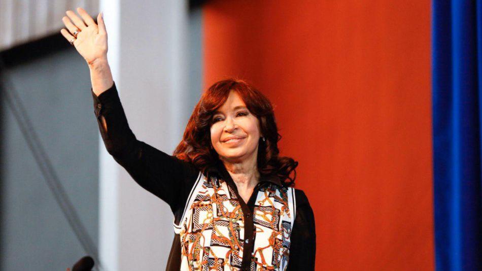 Cristina Fernández de Kirchner, vicepresidenta electa.