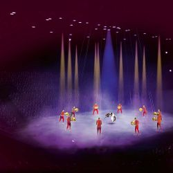 Las mejores fotos de la Gala del Cirque du Soleil de Messi 10