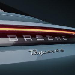 Porsche Taycan 4S, la versión de entrada de gama del primer auto eléctrico de Porsche.