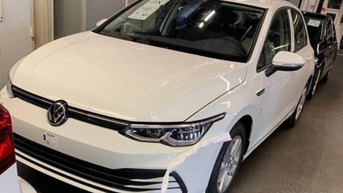 Más imágenes de su aspecto final — Volkswagen Golf VIII