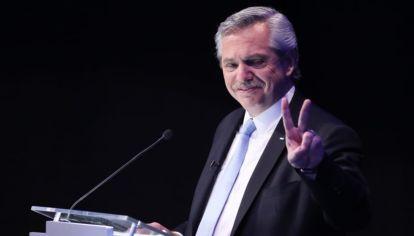 Alberto Fernández, candidato a presidente por el Frente de Todos.