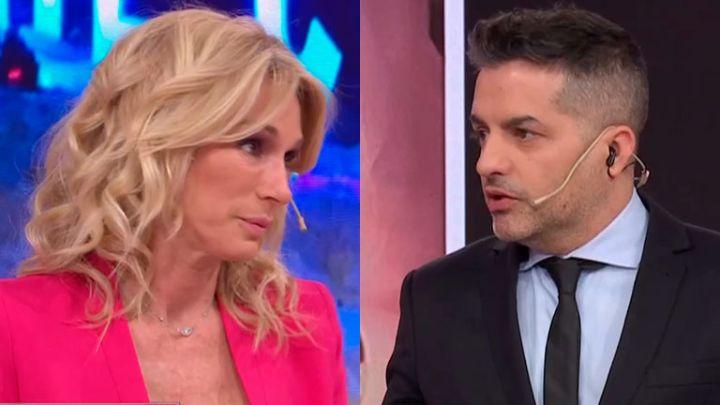 El incómodo momento entre Ángel de Brito y Yanina Latorre al aire