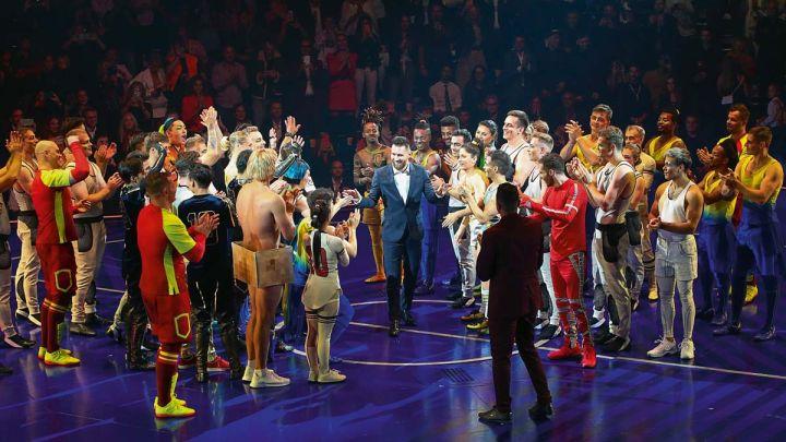 Las 32 mejores fotos de la gala del Cirque du Soleil de Messi 10