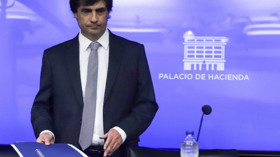 Hernán Lacunza, exministro de Hacienda.