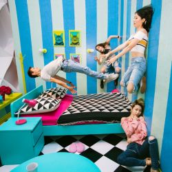 El Museo de la Selfie llega a Las Vegas con un espacio interactivo en Miracle Mile Shops.