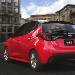 Prototipo del nuevo Toyota Yaris.