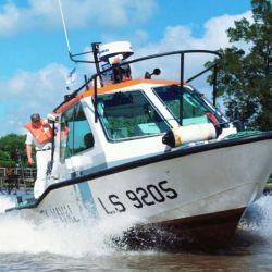 Prefectura Naval Argentina al rescate ante una llamada de energencia