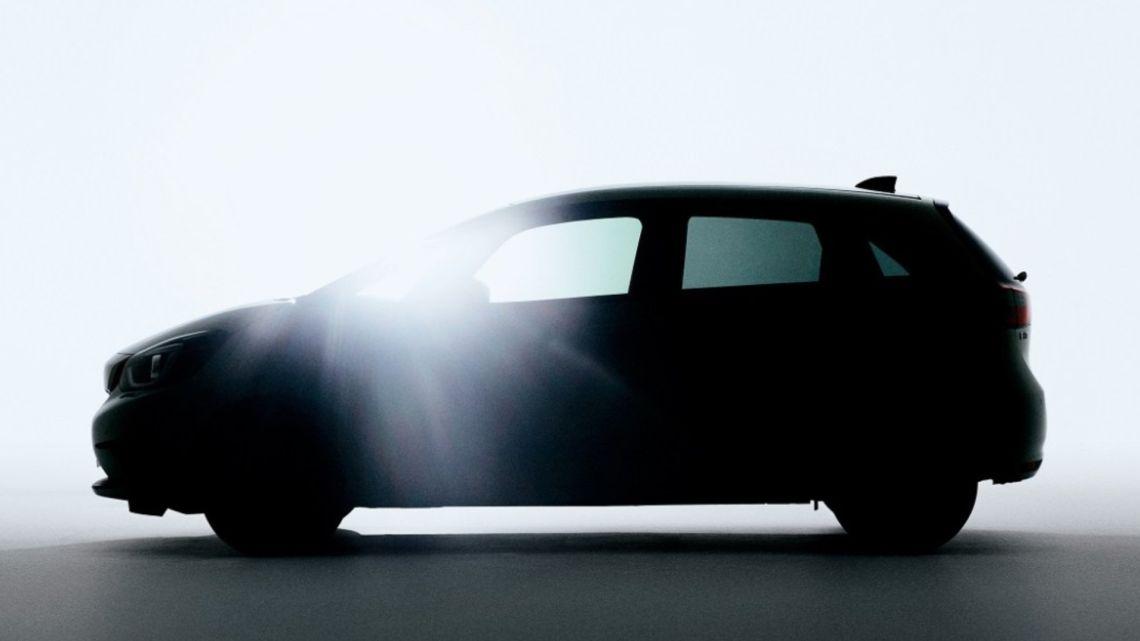 Honda avanza un 'teaser' de la próxima generación del Jazz