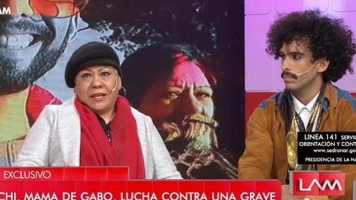 Murió la mamá de Gabo Usandivaras